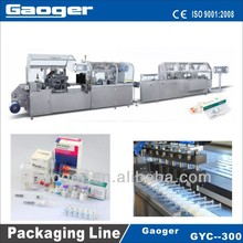 Pre-filled syringe blister packing and Cartoning Packaging Line (GYC-300)