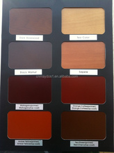 Easy application Solvent base wood stain