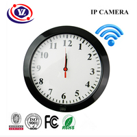 Home Security Digital Wireless HD720p Video Motion Detection WiFi Wall Clock Camera YZ004