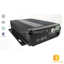 Vehicle Bus DVR With 4 Camera Video Input For Bus Taxi Police Car Security