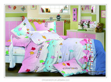 Made in China Wholesale 128*68 Pigment printed duvet cover set