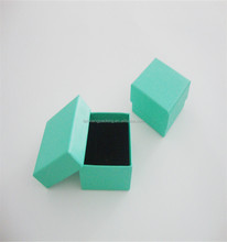 OEM Jewelry Small Box Packaging With Velvet Foam Insert