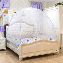 100% polyester mongolia foldable mosquito net canopy