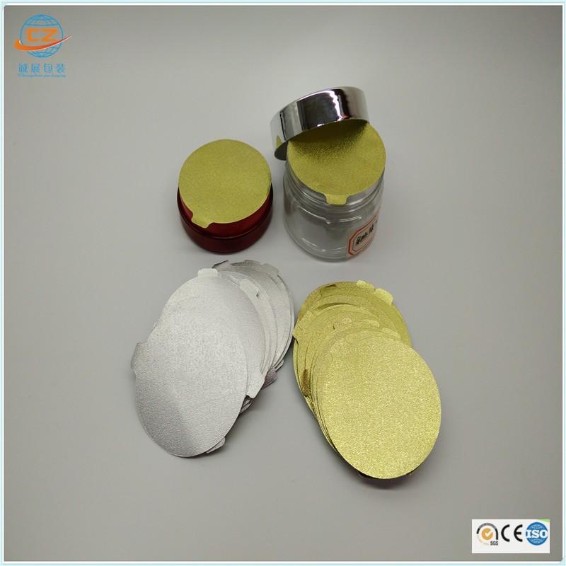 Aluminum Foil Induction Seal Lid For Plastic Cap Bottle