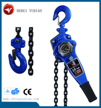 We supply capacity 245kn 24.5t combined manual lever chain block