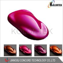 car paint colors, multicolored powder pigments for car paint