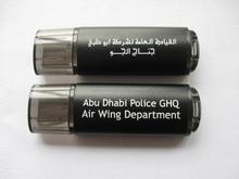 private label gadget plastic pen drive with epoxy sticker