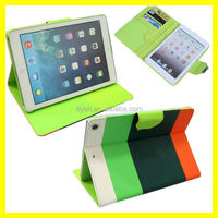 Wallet Hybrid PU Leather Flip Pouch Stand Case Hard Cover For iPad Air For iPad 5 Hot Sell Best Quality Factory