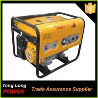 factory prices cheap with good quality fuel less for home use 100% cooper wire 3kva 6.5hp gasoline astra korea generator set