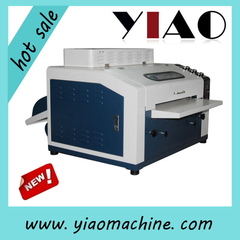 CE desktop mini uv coating machine