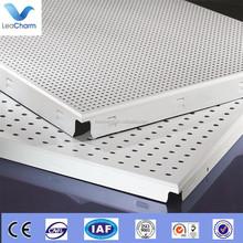 Waterproof aluminum acoustic square ceiling