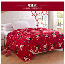 Cartoon baby blanket king size cheap china products child blankets flannel fleece blanket