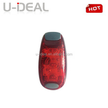 2015 hot sale china 2* CR2032 battery tail bicycle led light