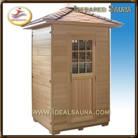 New arrival outdoor sauna individual