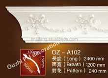 new industry PU building material cornice for interior