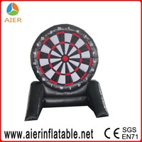 2016 interactive giant inflatable dart board, inflatable game toys for adults
