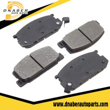Cerámica fabricantes de pastillas de freno, chino disc brake pad para toyota, almohadilla del freno del coche
