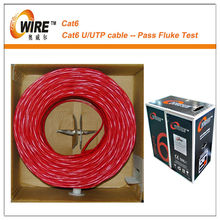OEM service provide 4 pair ftp cat6 network cable 305m
