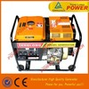portable small diesel generator set 3kw with low fuel consumption
