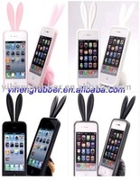 Rabbit Shape Silicone Phone Cover