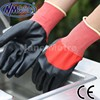 NMSAFETY CE certification poly coated nitrile industrial hand gloves