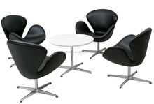 living room furniture modern designer swivel swan lounge chair