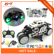 Multi-functional electric rc stunt toy car for kids