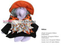 China Wholesale printed ribbon decor halloween witch craft