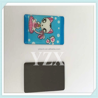 colorful custom resin fridge magnet