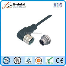 Factory supply good quality cable and power 8 pin connector M16(J09) Connector