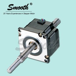 Smooth 0.9 linear stepper motor, nema 23 stepping motor