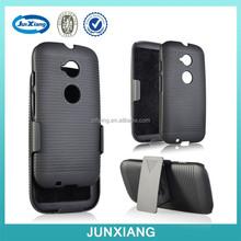 Hard Plastic mobile phone cover for moto E2
