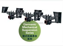 heavy machine transport semi trailer/tri axle mechanical suspension