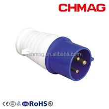 013 16A 3P IP44 220V Industrial male plug