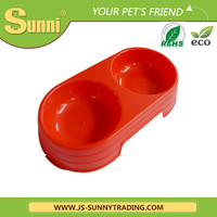Wholesale double plastic automatic feeder for cats