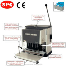 Heavy Duty Filepecker-IV60(M)NT 2/3 spindle electric paper driller/drilling machine