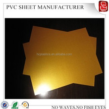 A4 golden inkjet pvc sheet