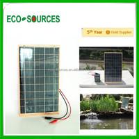 10w mini Epoxy solar panel low price laminate solar panel for battery