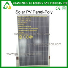 Factory direct price 300w poly import solar panels