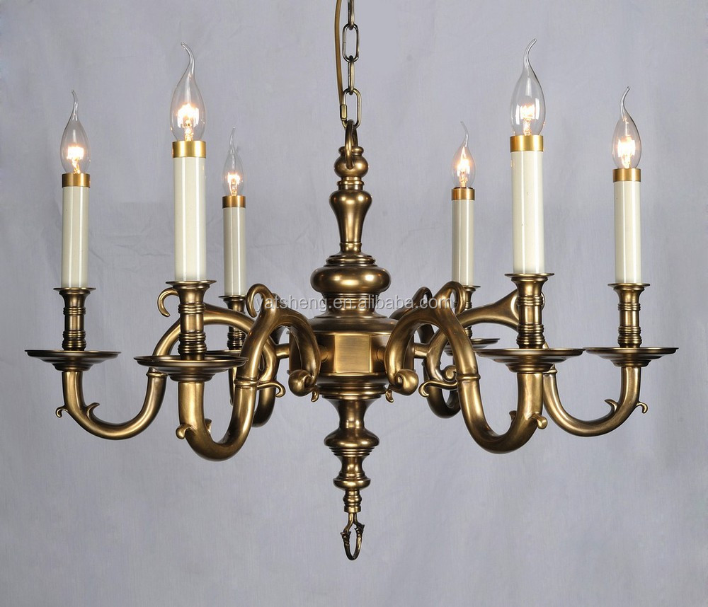 Fifteen lights traditional style antique brass chandelier buy brass chandelier brass chain - Popular chandelier styles ...