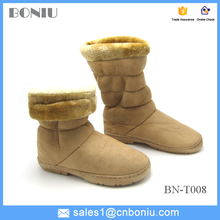 rubber outsole antiskid outdoor warm military snow boots for women