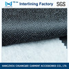China 100 polyester nonwoven garment chemical bond fusible interlining fabric(3030) for dresses
