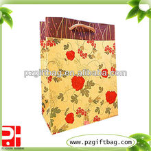 chemical brown kraft paper bag for shopping