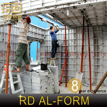 RD Alibaba Short construction period used concrete forms sale Warehouse sell to Saudi Arabia