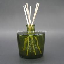 300 ml pintado brown botella de vidrio para difusor de la caña con tipo cono