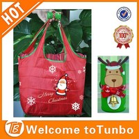 Wholesale red shopping bag with key chain pocket ladies new eco fashion bag