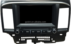 4.4.4 android gps car dvd for MITSUBISHI LANCER 2014- HD 1024*600 quad core optional WS-9582