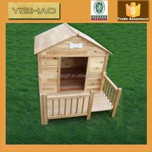 Made in China preço de fábrica de madeira clássica gaiola do cão, Casa de cachorro de madeira