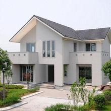 China Prefabricated Steel Frame Villa Prefab Villa and House in Modern Style for Sale
