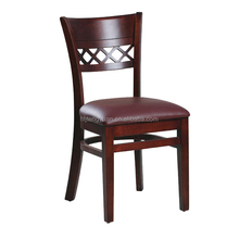 dark brown beautiful leather dining chair